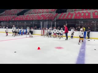 Running drills with ovi8...no big deal