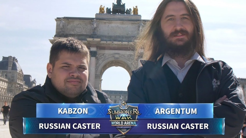 CASTERS SPOTLIGHT SWC2019 EUROPE CUP Kabzon Argentum