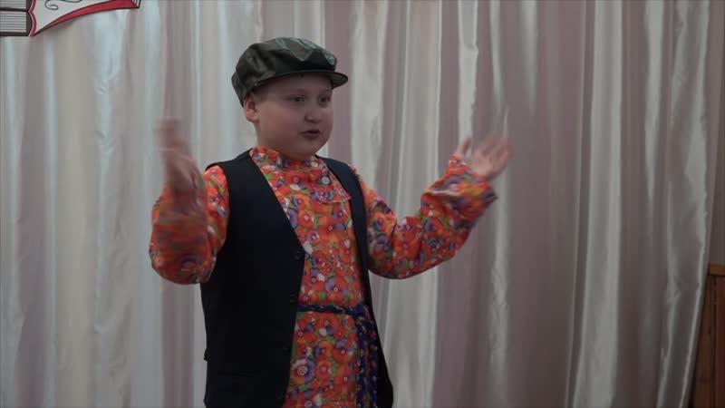 Никита Шабунин сказка С Писахова Как купчиха постничала