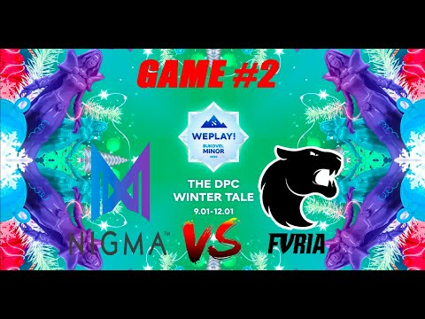 Nigma vs Furia | Bukovel Minor 2020 | Miracle | Bo3 WePlay | Group Stage | Game 2