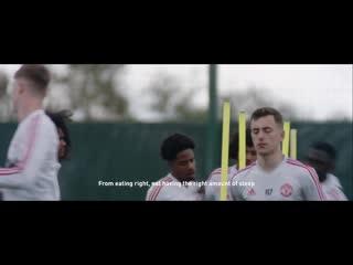 Новый ролик от Adidas. Манчестер Юнайтед не сдаётся