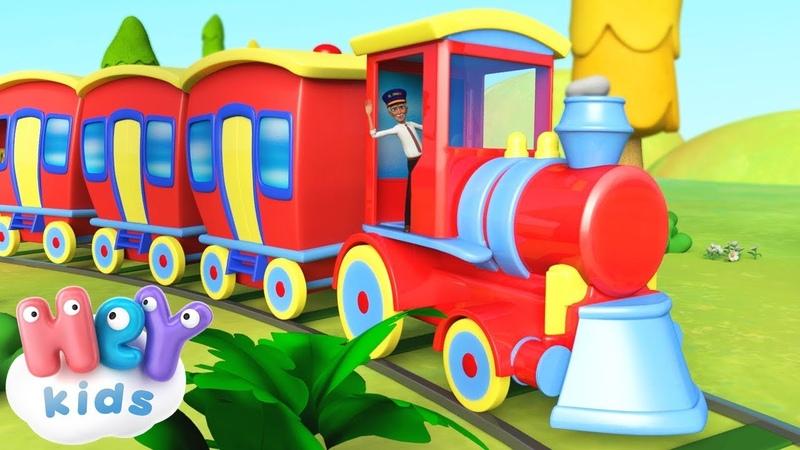 Le Petit Train chanson et plus de comptines pour bébé | HeyKids