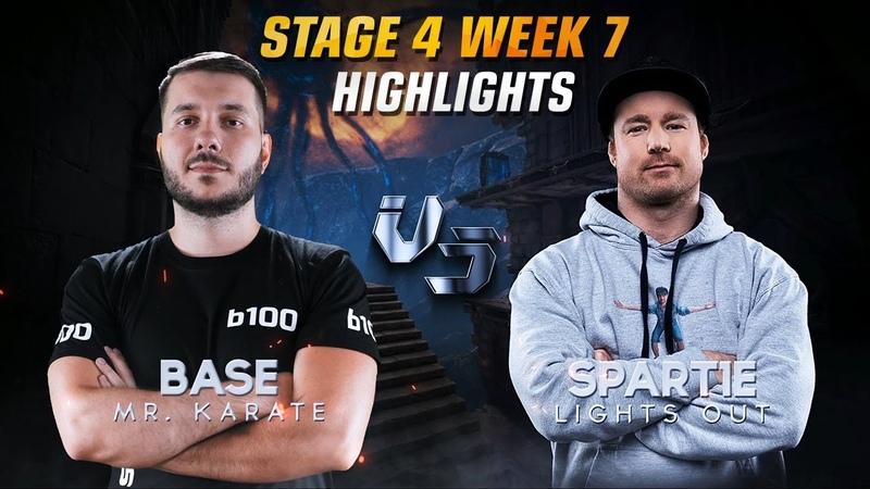 B100 BaSe QPL Stage 4 Week 7 Highlights