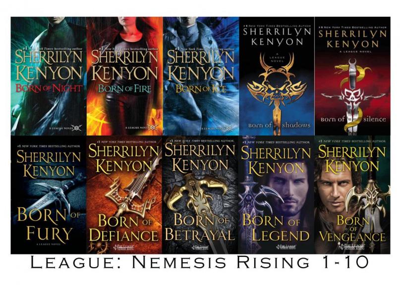 #1 Born of Night - Sherrilyn Kenyon