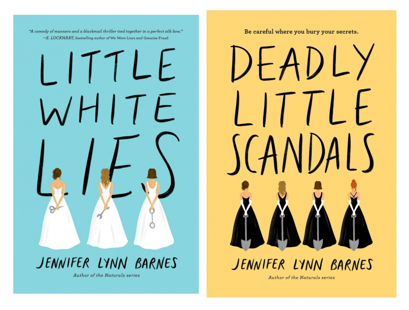 Jennifer Lynn Barnes - [Debutantes 01] - Little White Lies (epub)