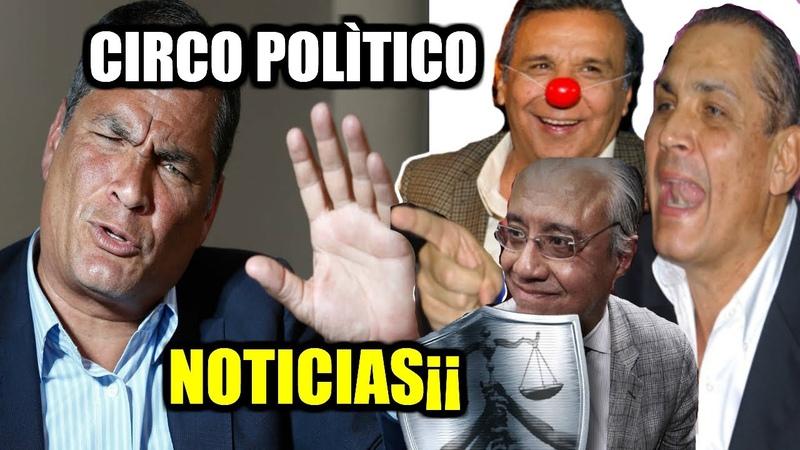 AL FIN¡¡ Rafael Correa PONE EN SU LUGAR a Fabricio C Aumenta Desempleo y Lenin contrata a un CIRCO