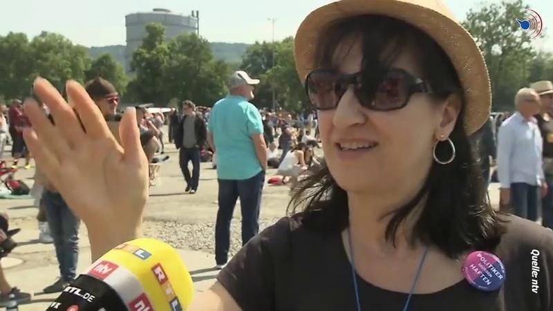 Die Unruhe in Deutschland wächst Bürger verteidigen unsere Grundrechte