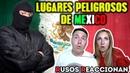Los LUGARES más PELIGROSOS de MÉXICO 🇲🇽 🇷🇺 RUSOS REACCIONAN Russians react to Mexico