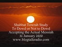 Shabbat Towrah Study To Dowd or Not to Dowd 31 January 2020