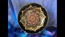 548 Декор тарелки Точечная роспись Мастер класс для начинающих