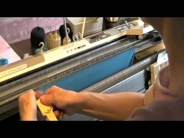 Macchina maglieria Cali spalla e chiusura maglie scollo