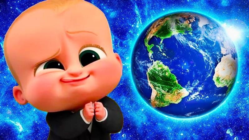Малыш БОСС МОЛОКОСОС съел землю 29 Кид в веселой игре Tasty Planet Forever на канале крутилкины