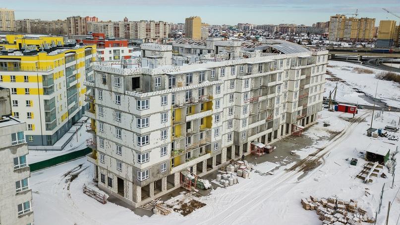 Отчет о ходе строительства март 2020. ЖК «Апрель», изображение №5