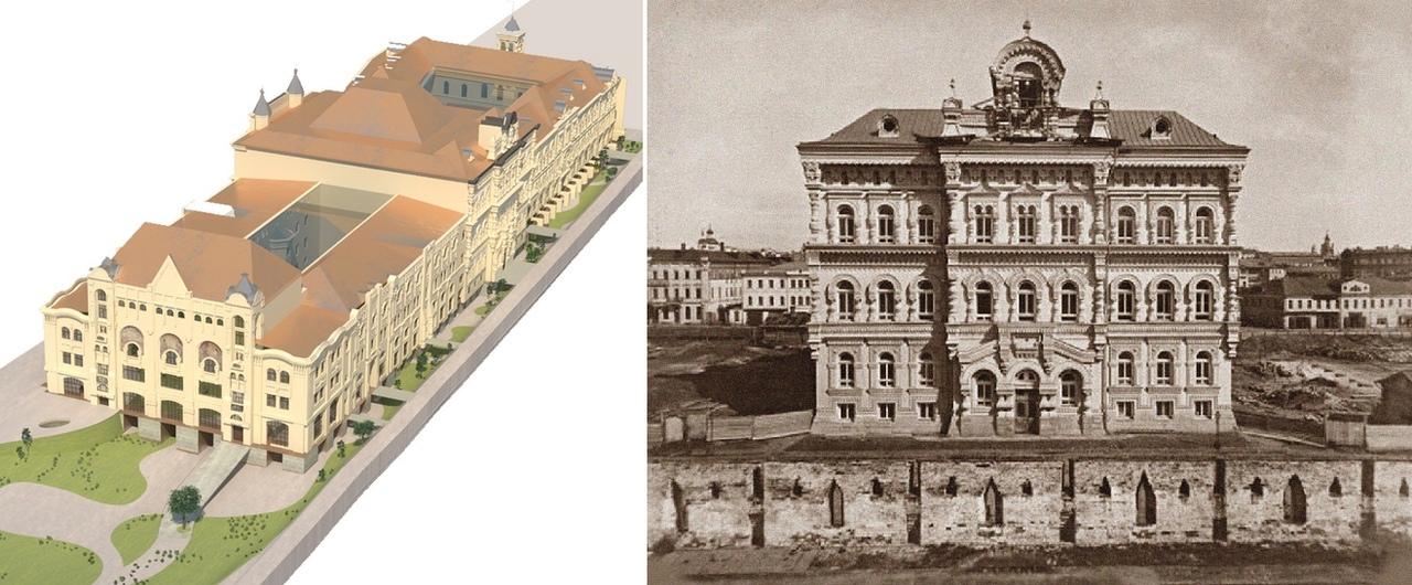 Закопанный Политехнический музей. Анализ старых фотографий