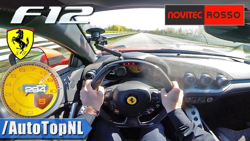 FERRARI F12 NOVITEC 6 3 V12 *F1 EXHAUST* on AUTOBAHN by AutoTopNL