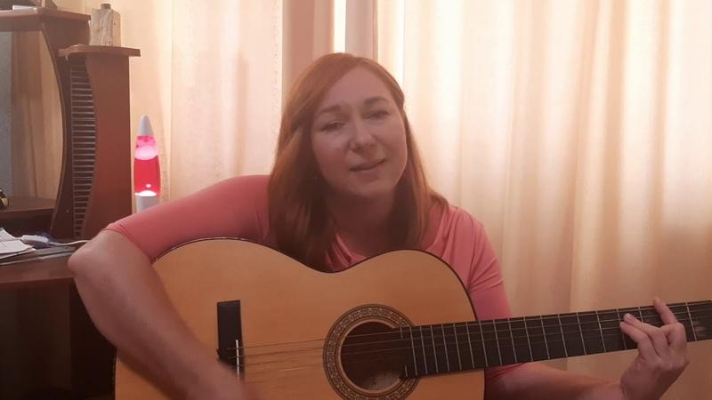 Aвторская песня на гитаре Мой диагноз это ты больше песен на youtube natusya1000