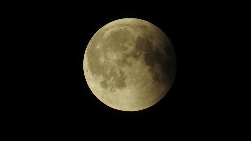 Flache Erde Mondfinsternis