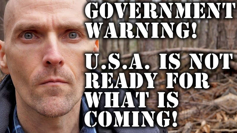 GOVERNMENT WARNING USA IS NOT READY FOR WHAT IS COMING YouTube