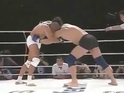 Первый бой в PRIDE. Риксон Грейси Нобухико Такада Rickson Gracie vs Nobuhiko Takada