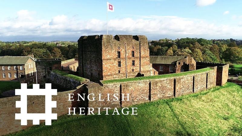 Postcard from Carlisle Castle, Cumbria | England Drone Footage