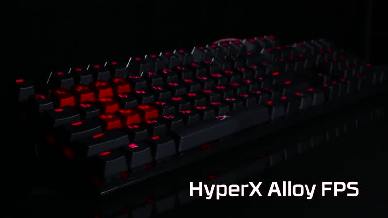 Клавиатура HyperX Alloy FPS MX Cherry Blue