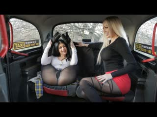 [FemaleFakeTaxi] Amber Jayne, Atlanta Moreno - Two Dirty Northern Sluts