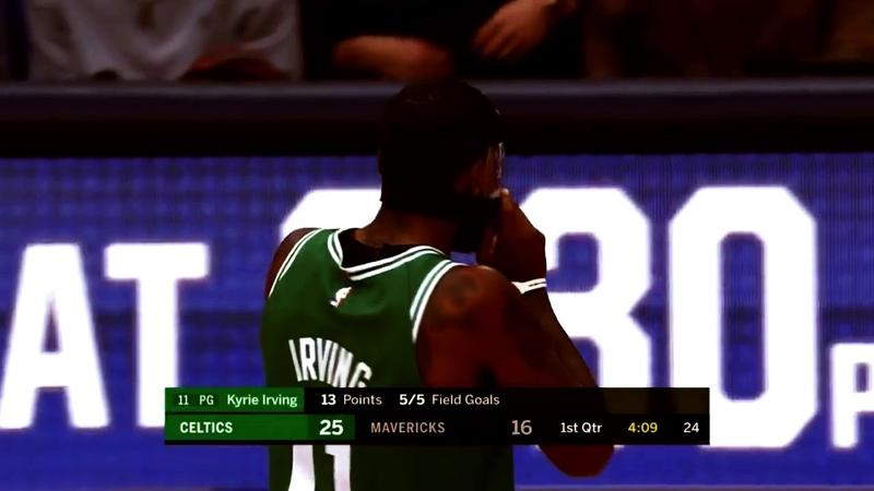 Basketball Best moment Kyrie Irving