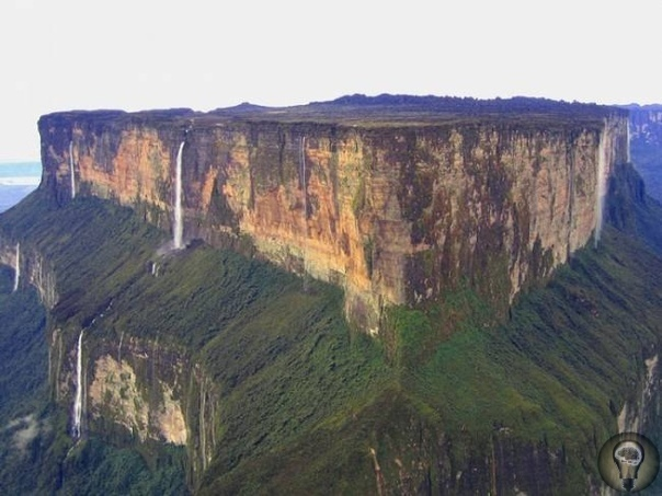 Плато Рорайма мистическая красота Самой знаменитой и мистической венесуэльской столовой горой является гора Рорайма, высота которой достигает 2810 метров, что дает право считать ее самой высокой
