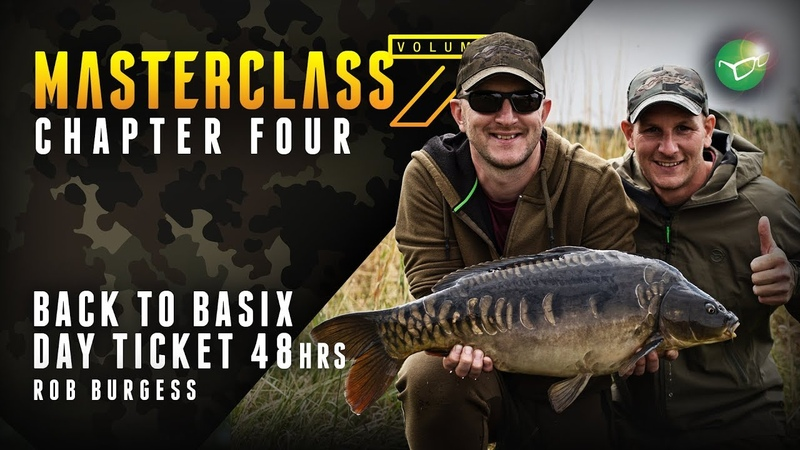 Korda Masterclass Vol 7 Day Ticket 48hrs Carp Fishing | Back to Basics