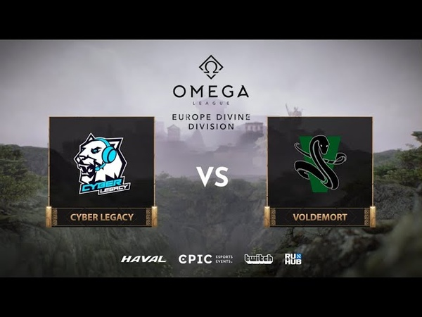 Cyber Legacy vs Voldemort OMEGA League Europe bo3 game 2 Jam Lost