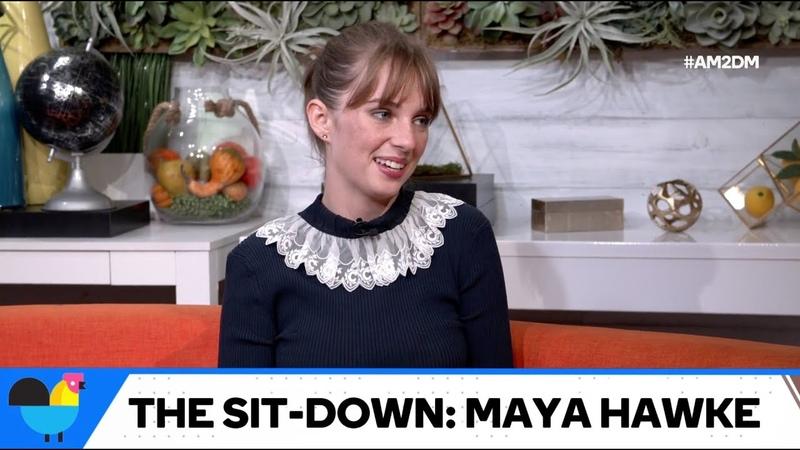 Майя рассказывает о дружбе Стива и Робин об ЛГБТ сообществе в интервью для портала AM to DM