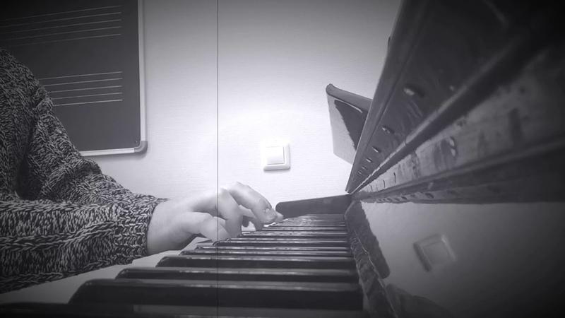 Фортепианный кавер песни легендарной группы Агаты Кристи Серое небо Piano cover