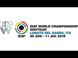 ISSF WCH Shotgun, Final Skeet Mixed Team Junior, Lonato, Italy