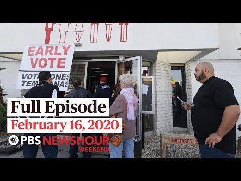 PBS NewsHour Weekend full episode February 16, 2020