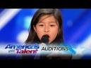 Amazing Celine Tam 9 Year Old Stuns Crowd With My Heart Will Go On America's Got Talent CelineTam