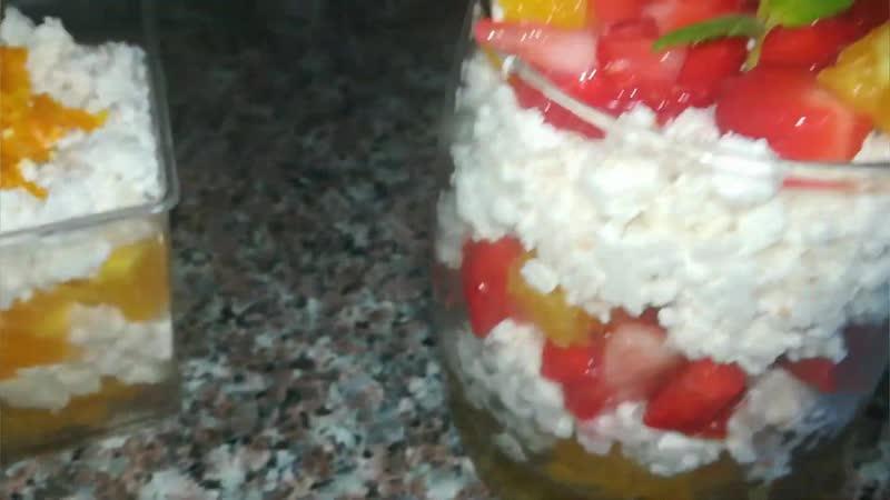 Десерт из творога, который готовится за 5 минут!