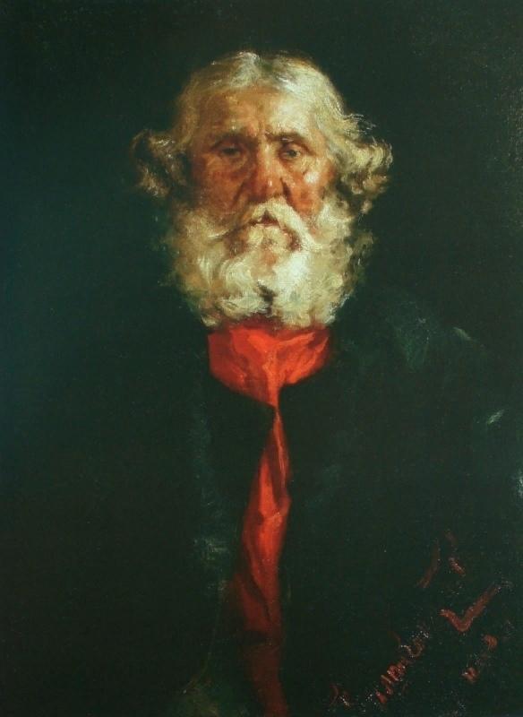 Старик. 1880-е. Национальная галерея Республики Коми. Сыктывкар