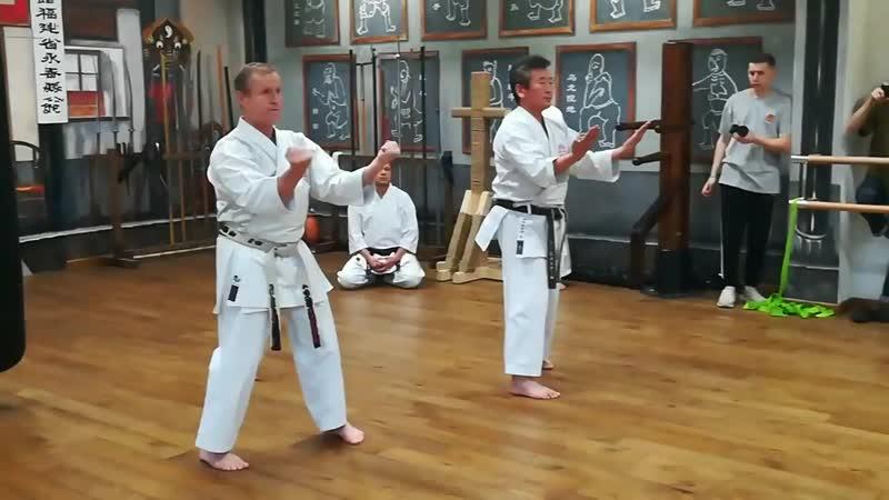 Karate Shito ryu Sanchin Kaishu Sanchin
