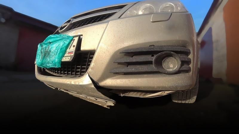 Как починить спаять бампер на Opel