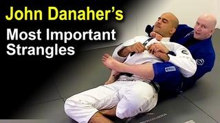 3 Most Important Jiu Jitsu Strangles (Chokes) by John Danaher