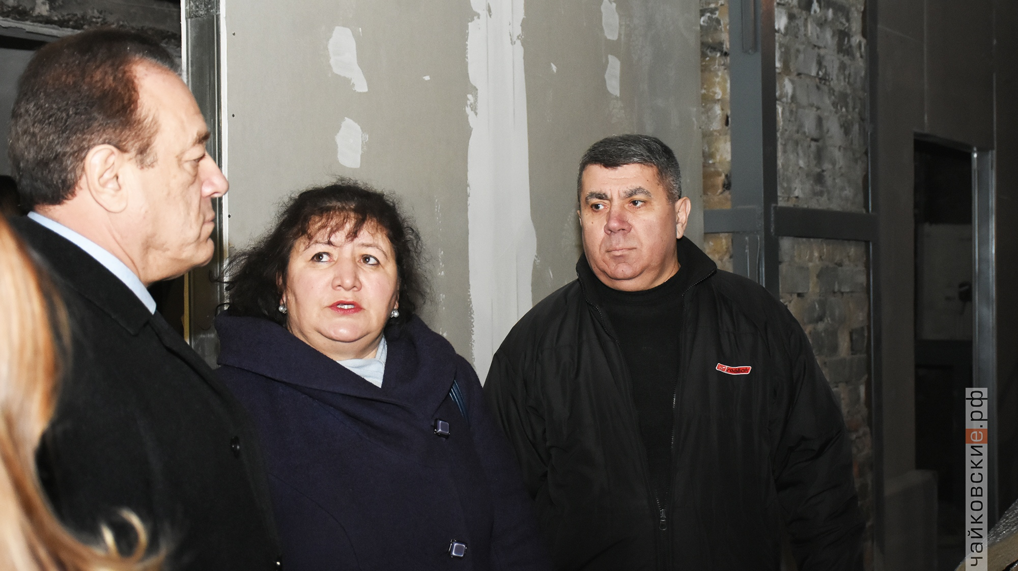 ремонт драмтеатра, чайковский район, 2019 год