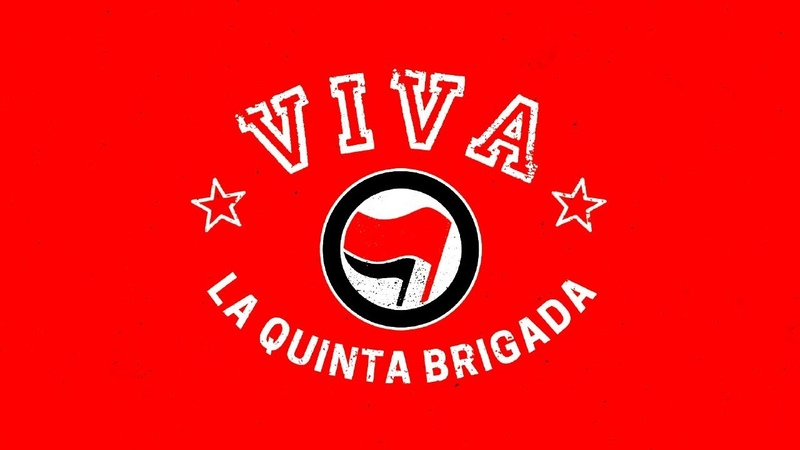VIVA LA QUINTA BRIGADA Ebri Knight Lyric Video