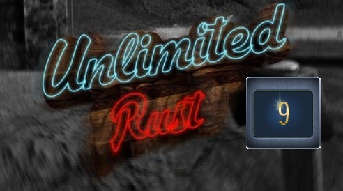 Rust UNLIMITED account 9 Year Badge 5 LVL