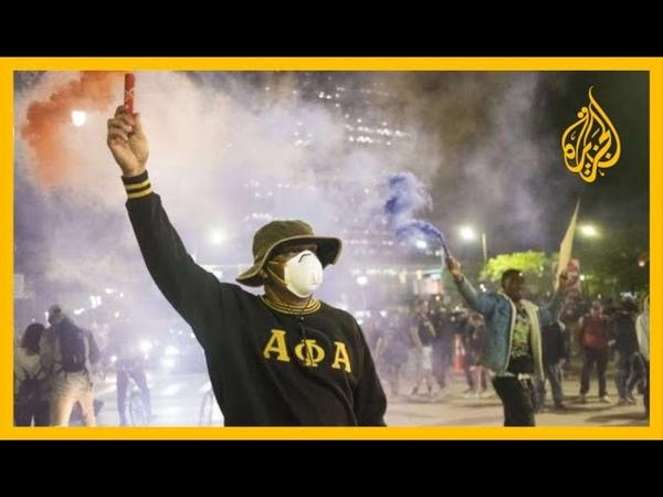 🇺🇸 تصاعد الاحتجاجات في أمريكا فرض حظر التجوال في 40 ولاية، وترمب يأمر بنشر قوات الحرس الوطني