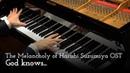 Suzumiya Haruhi no Yuuutsu - God Knows - Piano