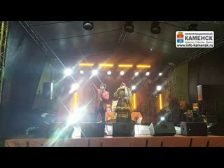 Открытие ТЦ Каменск Сити Молл концерт Иванушки International