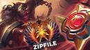 TOP 1 SPAMMER ZIPFILE FIRST PUDGE GRANDMASTER Immortal Rank in Dota 2 !!