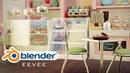 Bakery Art Blender Realtime EEVEE