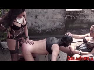 Shemale domination | tgirl dommes ramming slaves ass