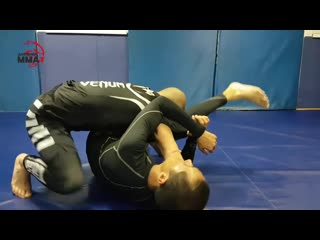Bravo choke. выход на удушающий браво в jiu jitsu